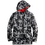 Boys 8-20 Tek Gear® Camo Pullover Fleece Hoodie