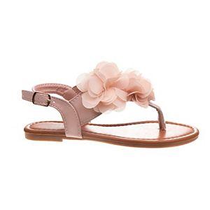 Petalia Floral Girls' Sandals