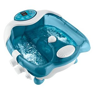 HoMedics Premier Pedicure Footbath with Heat Boost Power