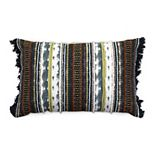 Tempo Home Lolita Textured Multi Oblong Throw Pillow