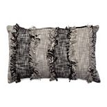 Tempo Home Mishka Textured Natural Oblong Throw Pillow