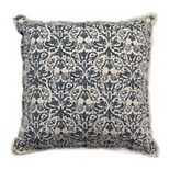 Tempo Home Leena Textured Blue Throw Pillow