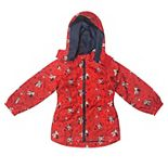 Disney's Minnie Mouse Toddler Girl Windbreaker by Dreamwave