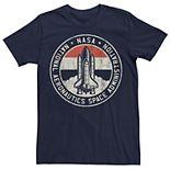 Men's NASA Definition Circle Shuttle Logo Tee