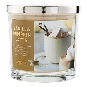 Sonoma Goods For Life® Vanilla Pumpkin Latte 14-oz. Candle Jar