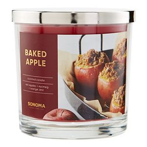 Sonoma Goods For Life® Baked Apple 14-oz. Candle Jar