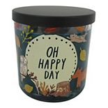 """SONOMA Goods for Life® """"Oh Happy Day"""" Crackling Cedarwood Candle Jar"""