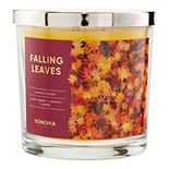 Sonoma Goods for Life® Falling Leaves 14-oz. Candle Jar