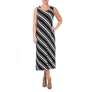 Women's Nina Leonard Print Maxi Dress