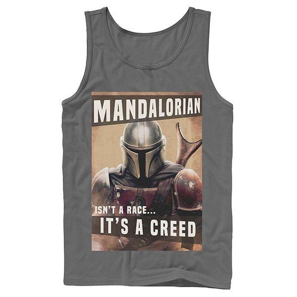 Men S Star Wars The Mandalorian It Isn T A Race It S A Creed Tank