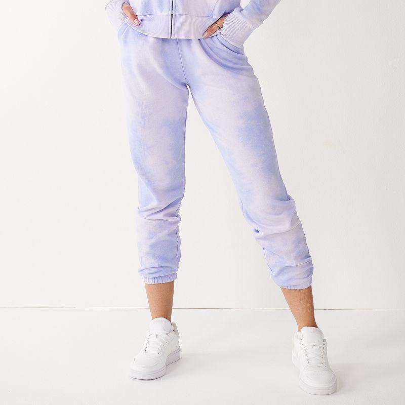 Juniors' SO Favorite Jogger Sweatpants. Girl's. Size: XS. Multicolor