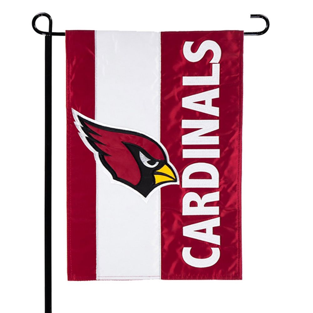 "Arizona Cardinals 12.5"" x 18"" Embellish Garden Flag"