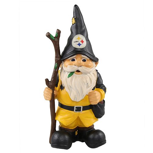 Pittsburgh Steelers Holding Stick Gnome