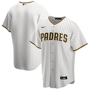 Men's Nike White/Brown San Diego Padres Home 2020 Replica Team Jersey