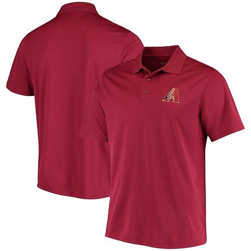 Men's Levelwear Red Arizona Diamondbacks Omaha One-Hit Polo