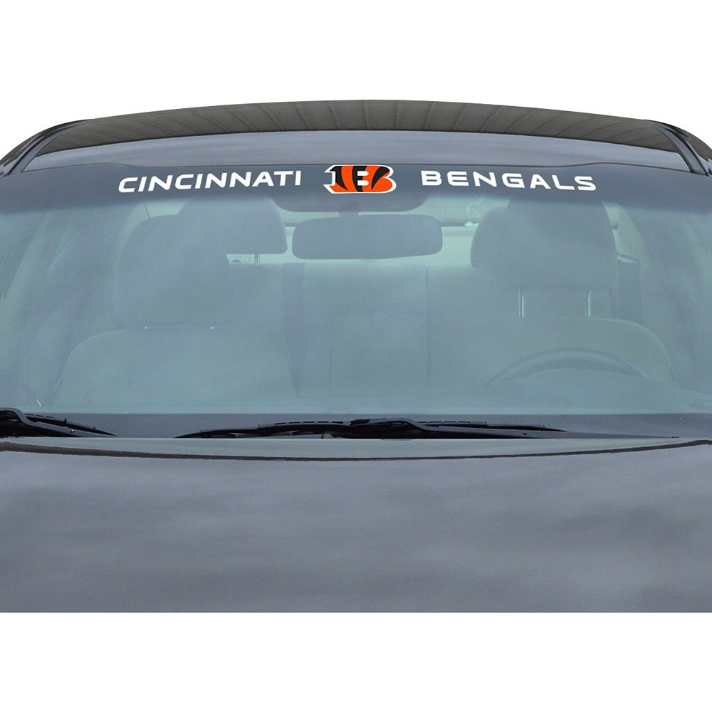 "Cincinnati Bengals 34"" Vinyl-Coated Windshield Decal"