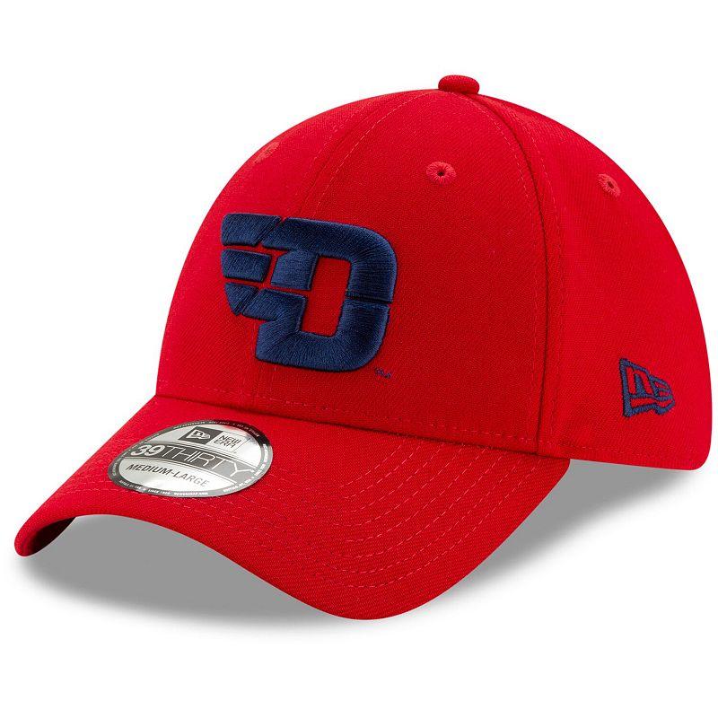 Men's New Era Red Dayton Flyers Velocity 39THIRTY Flex Hat, Size: Large/XL