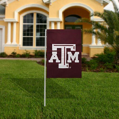 Texas A&M Aggies 17.5'' x 12.5'' Maroon Garden Flag