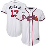 Youth Nike Ronald Acuna Jr. White Atlanta Braves Home 2020 Replica Player Jersey
