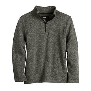 Boys 8-20 Urban Pipeline Fleece Quarter-Zip Sweater