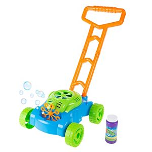 Hey! Play! Toy Push Bubble Lawn Mower