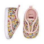 Carter's Flower Print Baby Girl Sneakers