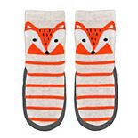 Baby/Toddler Boy Jumping Beans® Fox Striped Slipper Socks