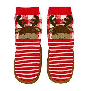 Baby/Toddler Boy Jumping Beans® Deer Slipper Socks