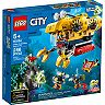 LEGO City Ocean Exploration Submarine 60264 Toy Playset (286 Pieces)