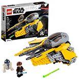 LEGO Star Wars Anakin's Jedi Interceptor 75281 Building Kit (248 Pieces)