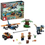 LEGO Jurassic World Velociraptor: Biplane Rescue Mission 75942 Building Kit (101 Pieces)