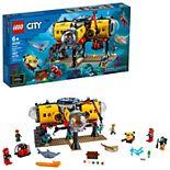 LEGO City Ocean Exploration Base 60265 Building Set (497 Pieces)
