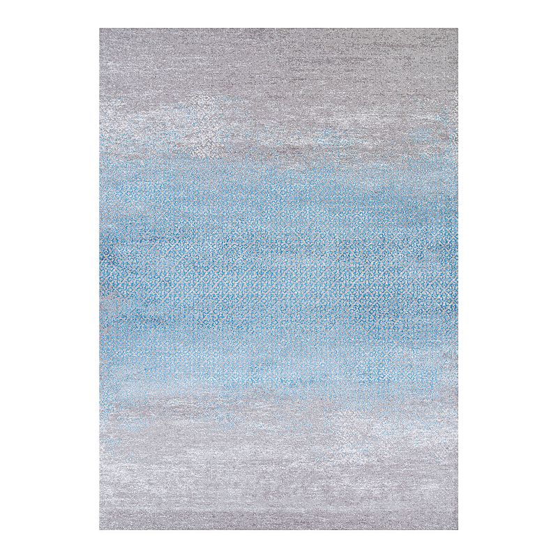 Couristan Radiance Juliette Area Rug, Blue, 2X4 Ft