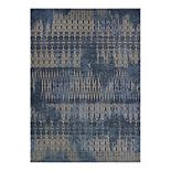 Couristan Dolce Blue Nile Indoor Outdoor Area Rug