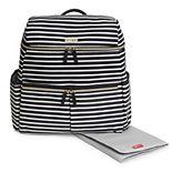 Skip Hop Flatiron Striped Diaper Backpack