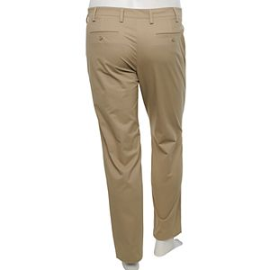 Big & Tall Croft & Barrow® Straight-Fit Easy-Care Stretch Flat-Front Chino Pants
