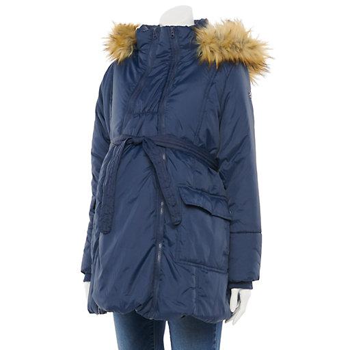 Womens Maternity Coats Jackets Outerwear Clothing Kohl S