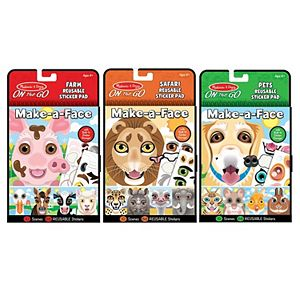 Make-a-face Sticker Collection. Melissa /& Doug Bundle of 3