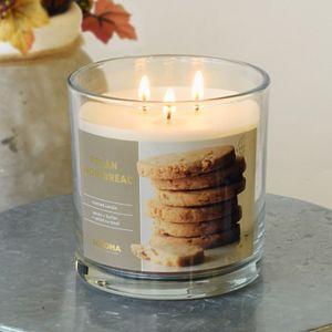 Sonoma Goods For Life 14-oz. Pecan Shortbread Candle Jar