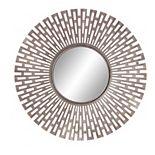 Patton Oversized Champagne Geometric Sunburst Mirror