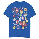Boys 8-20 Marvel Easter Spider-Man & Iron Man Easter Baskets Graphic Tee