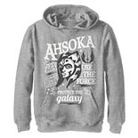 Boys 8-20 Star Wars Ahsoka Head Shot Quote Collage Pullover Graphic Hoodie
