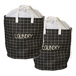 Creative Ware Home 2-pack Palmetto Laundry Bag Totes