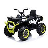 Blazin Wheels 12-Volt Super Quad Ride-On