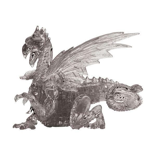 University Games 3D Crystal Puzzle - Dragon 56-Pieces