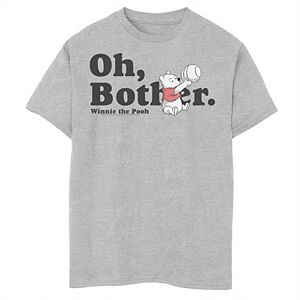 Disney's Winnie the Pooh Boys 8-20 Oh Bother Quote Graphic Tee