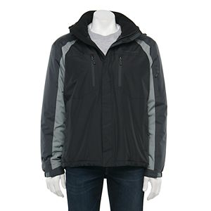 Men's Free Country Colorblok Midweight Hooded Jacket