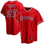Youth Nike Mike Trout Red Los Angeles Angels Alternate 2020 Replica Player Jersey