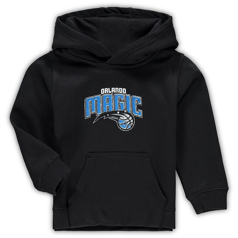 Preschool & Toddler Black Orlando Magic Primary Logo Pullover Hoodie, Toddler Unisex, Size: 2T