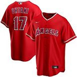 Youth Nike Shohei Ohtani Red Los Angeles Angels Alternate 2020 Replica Player Jersey